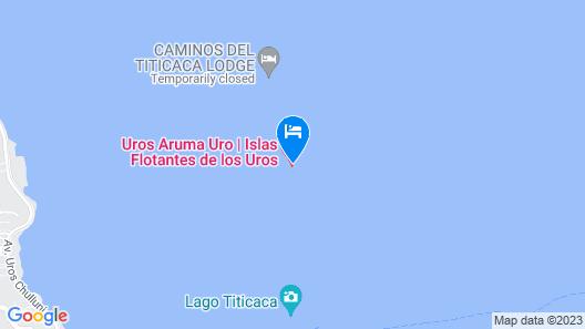 Dora Titicaca Lodge Perú Map