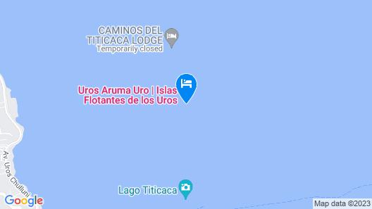 Uros Titicaca Uta Lodge Map