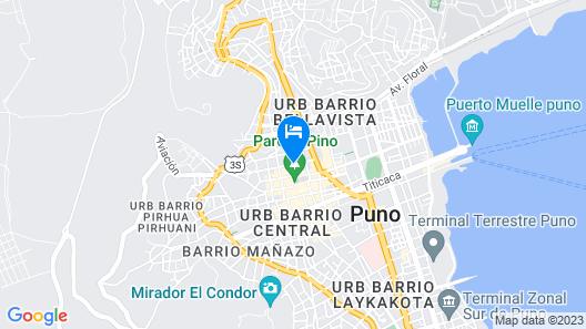 UTASA INN Map
