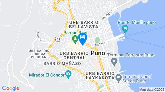 Hotel Manco Capac Map
