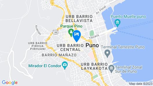 Hacienda Puno Map