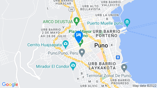 Tierra Viva Puno Plaza Map