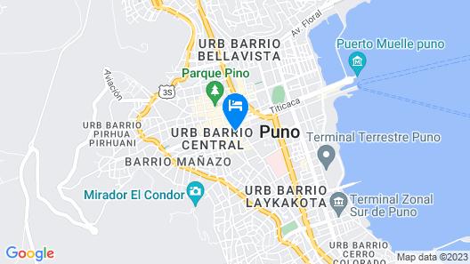 Sol Plaza Hotel Map