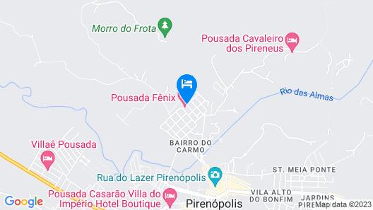 Pousada Fênix Map