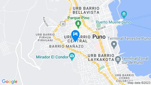 Suite Independencia Puno Map