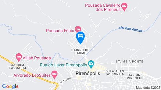 Pousada Ikabana Map