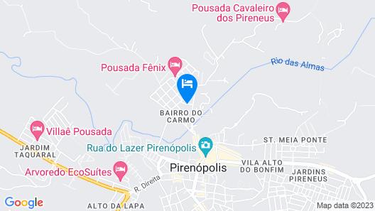 OYO Pousada Aquarela Map