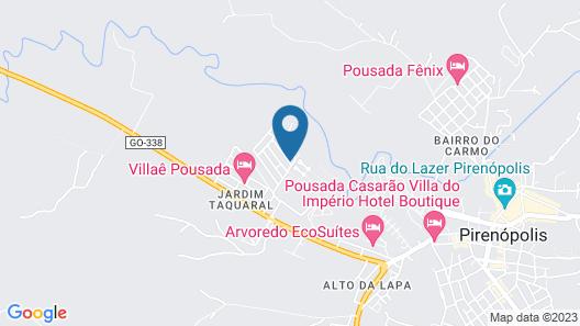 Charming House of Cerrado Map