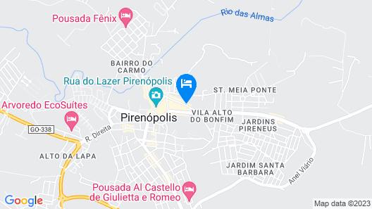 Jade Pousada Boutique Map