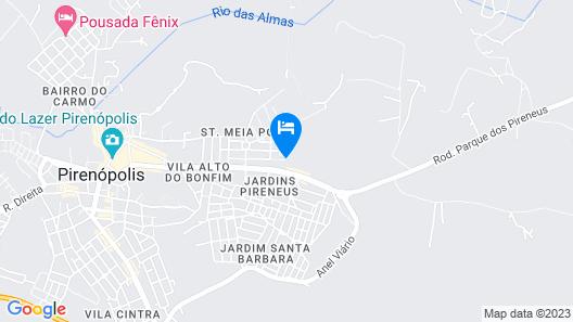 Residencial Suítes Pirenópolis Map