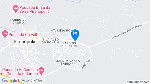 Flor de Pequi Pousada Map
