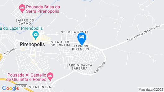Pousada Tia Côca Map