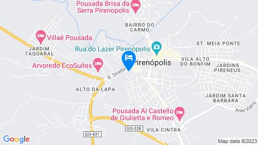 Pousada Vila Colonial Map