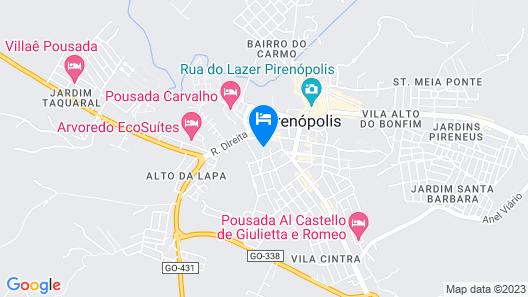 Pousada Zoe Map