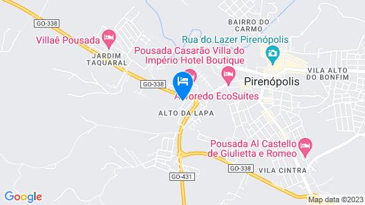 Cachoeira Araras Resort Ltda Map