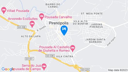 Pousada Estrela Guia Map