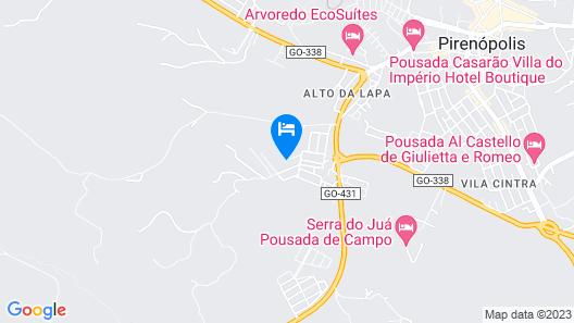 Chalés Terraviva Map