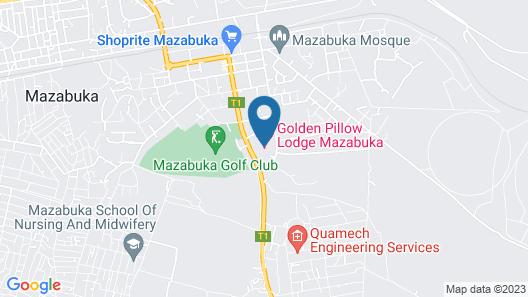 Golden Pillow Lodge Map
