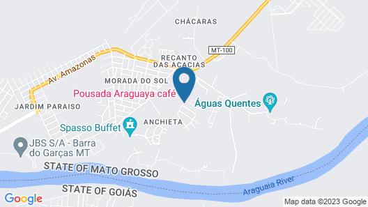 Araguaya Café Map