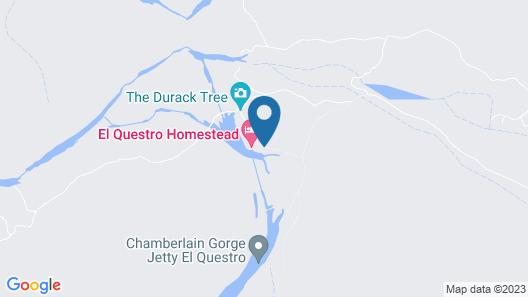 El Questro Homestead Map
