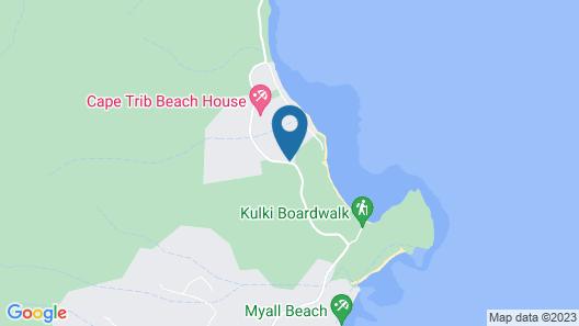 Cape Tribulation Beach House Map