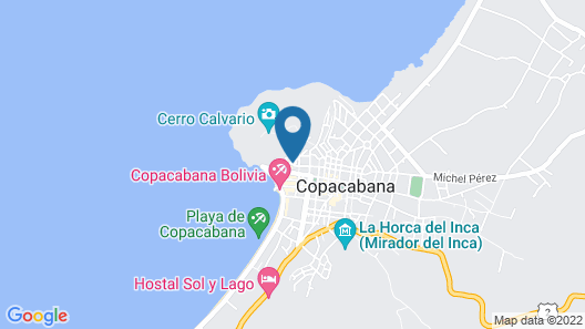 Hotel La Cúpula Map