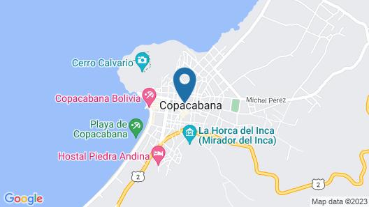 Hotel Espejo Map