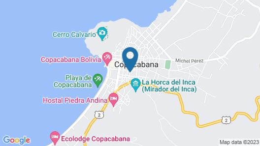 HOSTAL PUERTO ALEGRE Map