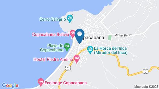 Hotel Gloria Copacabana Map
