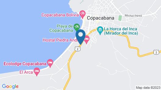 Flor de mi Tierra Map