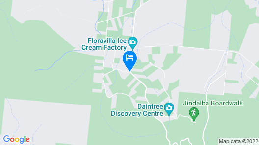 Daintree Rainforest Retreat Map