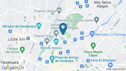 Wyndham Costa del Sol Arequipa Map