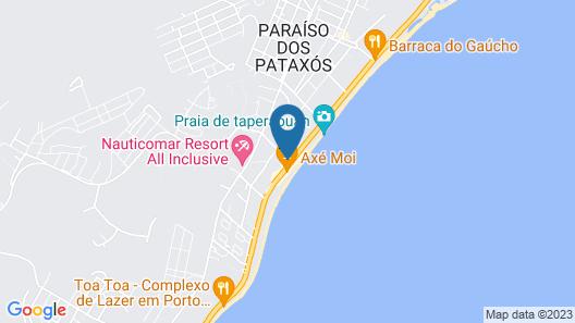 Oceano Praia Hotel Map