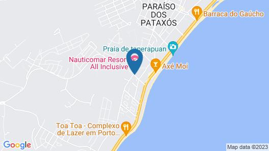 Porto Geraes Praia Hotel Map