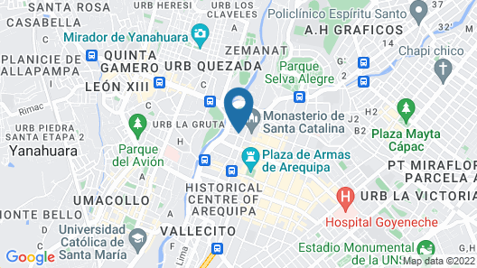 qp Hotels Arequipa Map