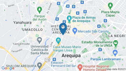 Hoteles Riviera - Mansión Map