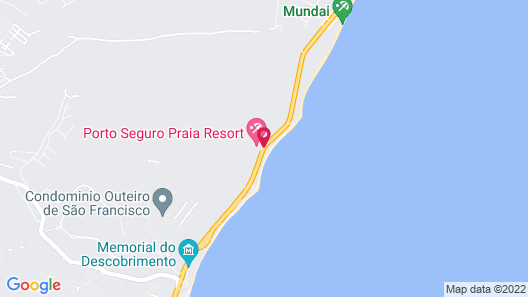 Boulevard da Praia Apart Hotel Map