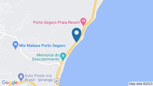 Quinta do Sol Praia Hotel Lite Map