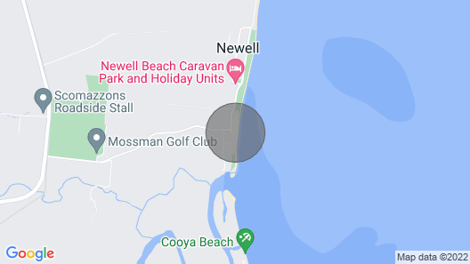 The Beach House on Newell - Absolute Beachfront Map