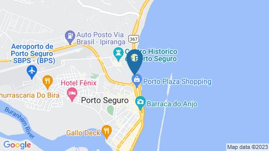 Best Western Shalimar Praia Hotel Map