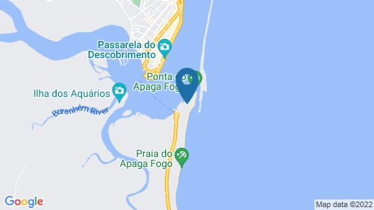 Arraial D'Ajuda Eco Resort Map