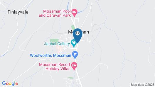 Demi View Motel Map