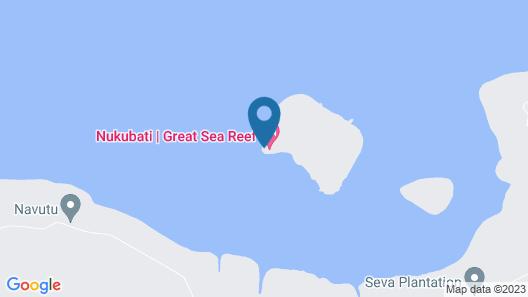 Nukubati Private Island Great Sea Reef Map