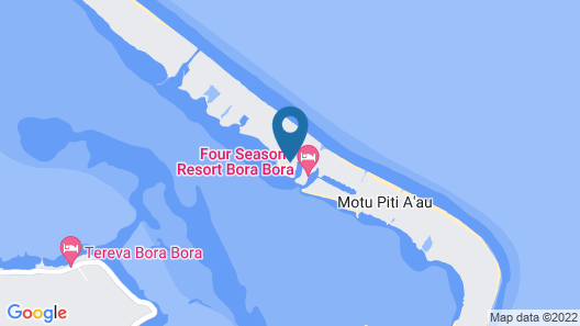 Four Seasons Resort Bora Bora Map