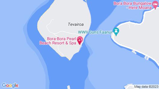 Le Bora Bora by Pearl Resorts Map