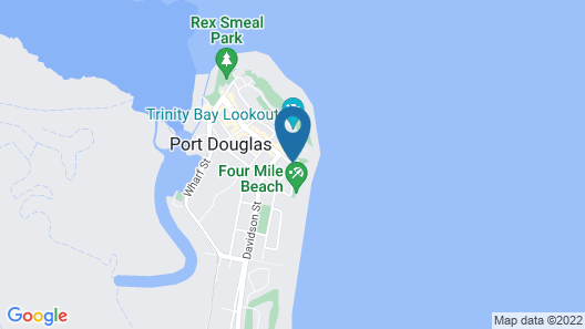 By The Sea Port Douglas Map