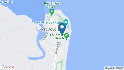 Tropical Reef Apartments Port Douglas Map