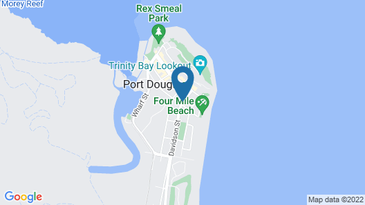 Meridian Port Douglas Map