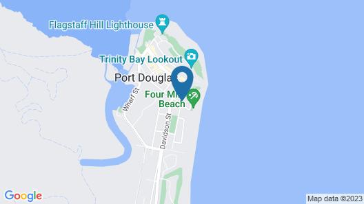 Beach Terraces- Port Douglas Map