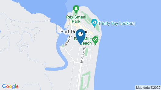 Port Douglas Outrigger Holiday Apartments Map